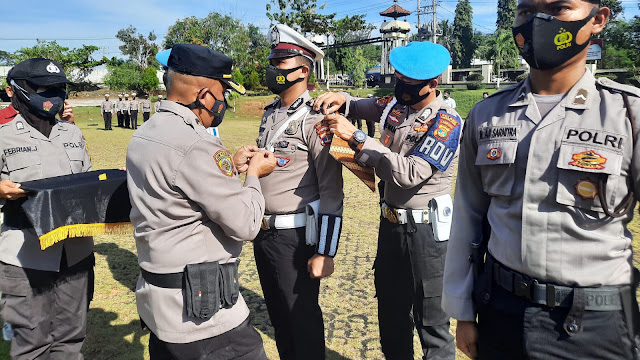 Polres Lampung Utara Gelar Pasukan Operasi Nusa II 2021