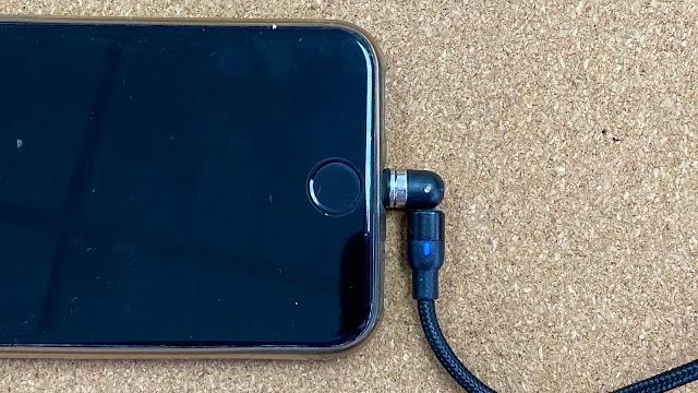 【新品】韓國 자유 Freedom 旋轉磁能充電線 送齊 Lightning + Micro + Type-C 插頭
