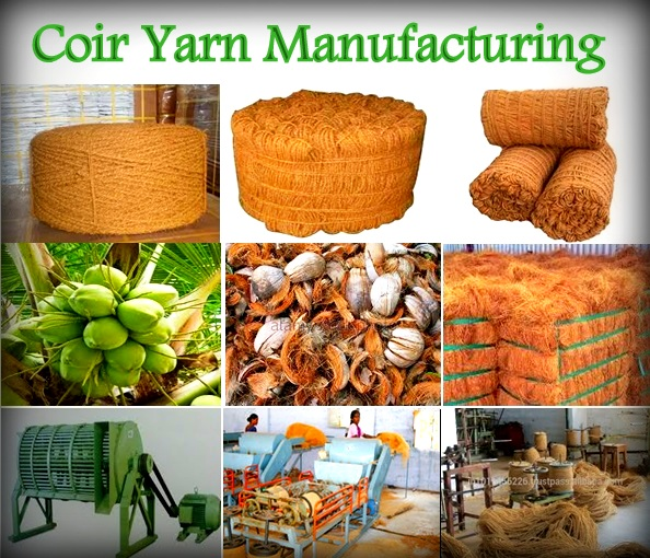 PROJECT PROFILE (37): COIR YARN MANUFACTURING | CR Business Solutions