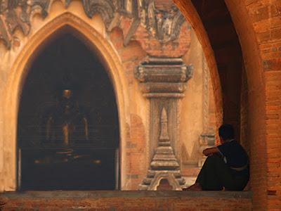 Myanmar. Bagan. Sulamani Paya.