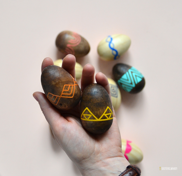 Colorful Patterned Easter Eggs