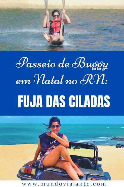 cartaz passeio de buggy em natal