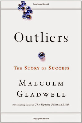 Outliers: The Story of Success by Malcolm Gladwell - book cover