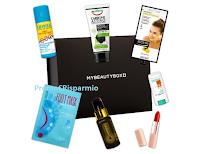 Logo Vinci gratis 31 kit Let's Celebrate MyBeautyBox