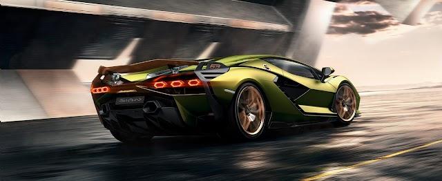 Lamborghini Sián FKP 37: the first supercapacitor-based hybrid V12 ($3.6 million)