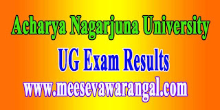 Acharya Nagarjuna University UG Revaluation Results