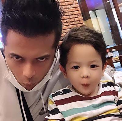 Choky Andriano dan Anaknya