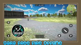 cara free fire offline