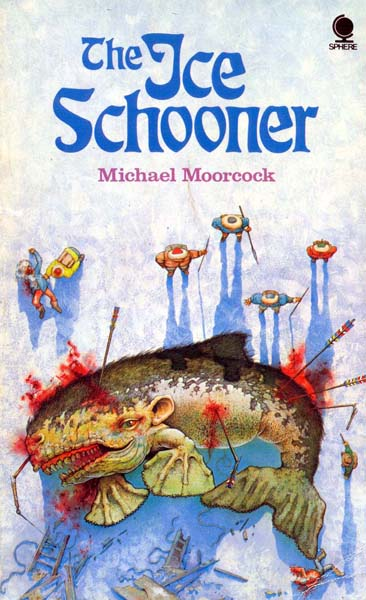 Portada de The Ice Schooner, de Michael Moorcock