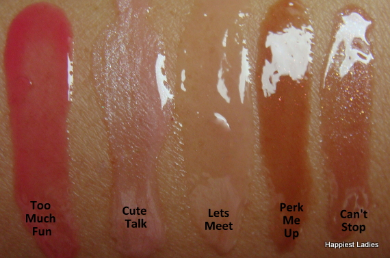MUA Sheer lip gloss