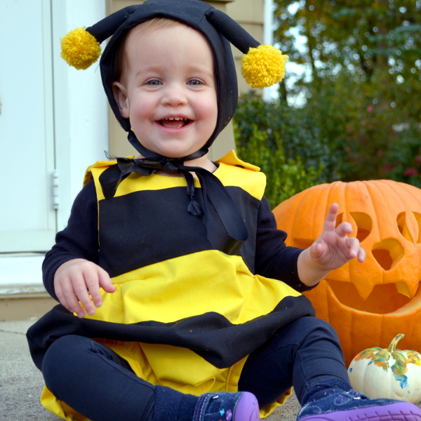 cozy birdhouse | bee costume