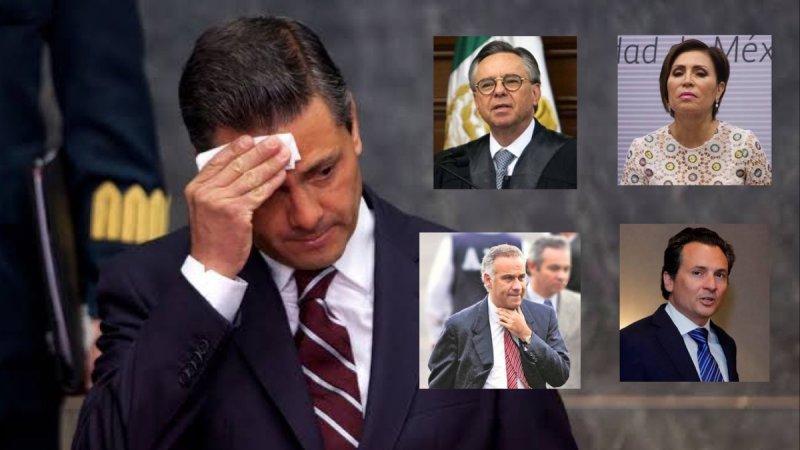 Ya cayó su abogado, su secretaria, su ministro y su amigo está prófugo; el que sigue es EPN