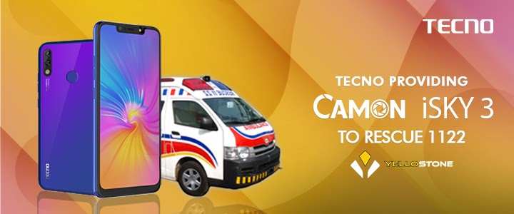 Tecno To Provide Camon I Sky 3 To The Punjab Emergency Rescue Servicemen (Rescue 1122)