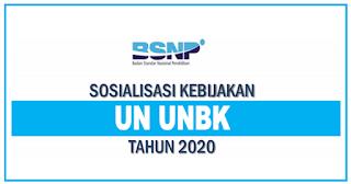 BSNP Terbitkan Kebijakan Sosialisasi UN UNBK Tahun Pelajaran 2019/2020