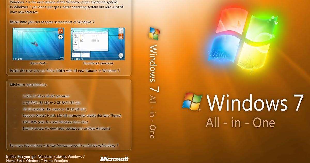 Windows 7 SP1 AIO