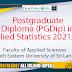 Postgraduate Diploma (PGDip) in Applied Statistics 2021/2022