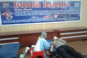 Polda Sulut Gelar Donor Darah Sambut Hari Lalulintas Bhayangkara Ke-65