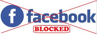 Cara ampuh share link yang di blokir facebook