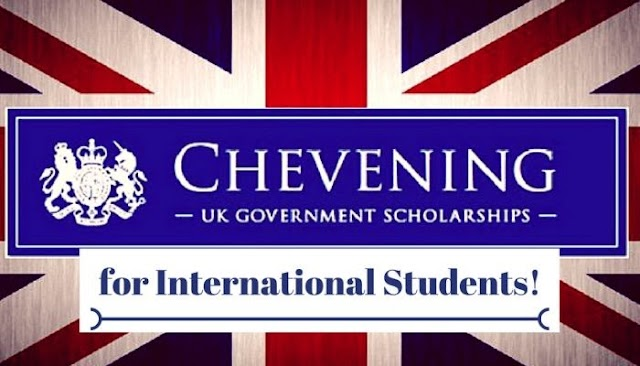 Applications for FULLY FUNDED 2021/2022 Chevening Awards are now open: MASTER'S DEGREE IN UNITED KINGDOM (Deadline November 3, 2020)