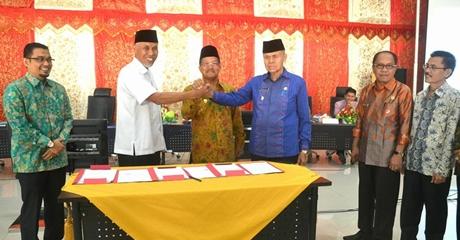 NPHD Pilkada Padang Tercepat di Sumatera