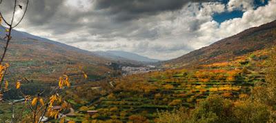 Valle del Jerte, Poesía y Leyenda