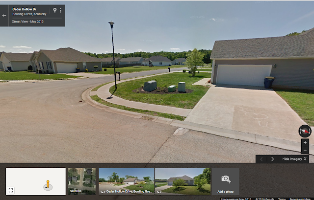 Cedar Hollow Drive Bowling Green, Kentucky - Interesting Google Street View Sights