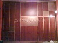 Шкаф с комбинированными   дверями