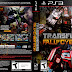 Capa Transformers Fall Of Cybertron PS3