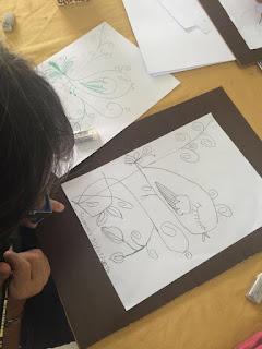 Downidos-Aula de desenho-passarinho