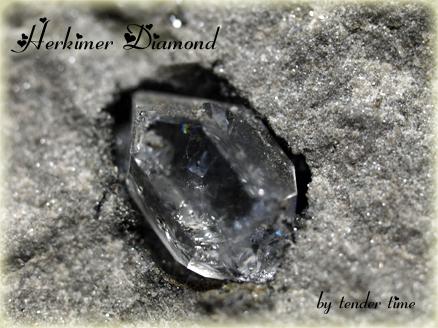 ハーキマーダイヤモンド Herkimer Diamond Herkimer Co., New York, U.S.A ハーキマーダイヤモンド