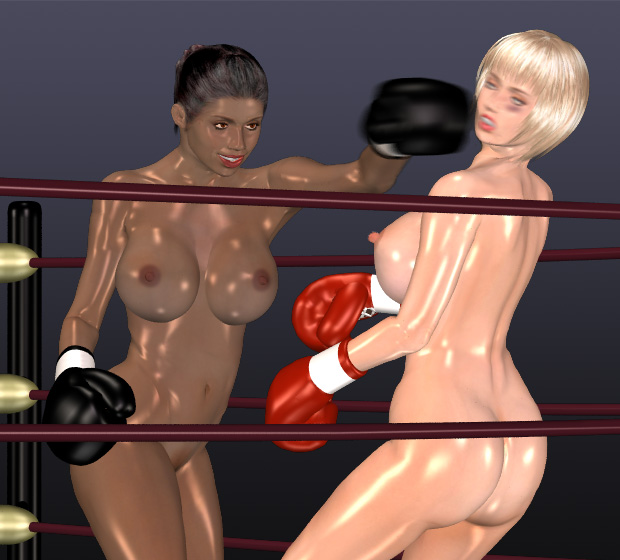 Join. sexy asian girl boxing
