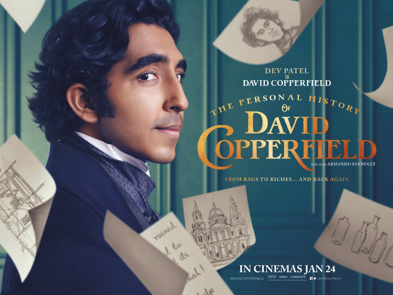 The Personal History of David Copperfield poster dev patel