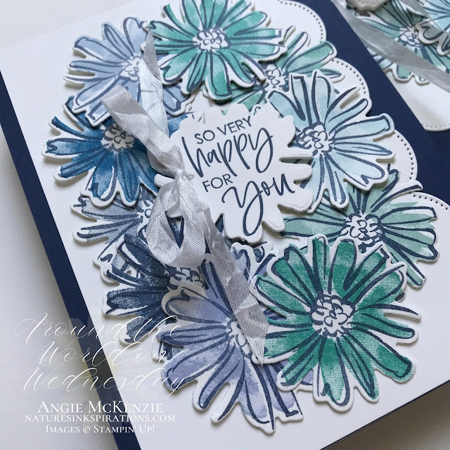 By Angie McKenzie for Around the World on Wednesday Blog Hop; Click READ or VISIT to go to my blog for details! Featuring a SNEAK PEEK of the Colors & Contours Bundle in the 2021-2022 Annual Catalog along with the Pierced Blooms Dies which are part of the In Blooms Bundle in the January-June 2021 Mini Catalog by Stampin' Up!®; #thankyoucards #stamping #aroundtheworldonwednesdaybloghop #awowbloghop #colorandcontourbundle #colorandcontourstampset #scallopedcontoursdies #sneakpeek #20212022annualcatalog #piercedbloomsdies #naturesinkspirations #diystationery #diycrafts  #makingotherssmileonecreationatatime #diecutting #monochromerainbowchallenge  #cardtechniques #stampinup #handmadecards #stampincutandembossmachine #stampinupcolorcoordination #papercrafts