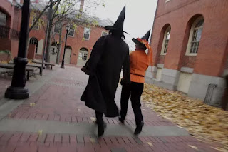 Salem is known for its witch-related tourism