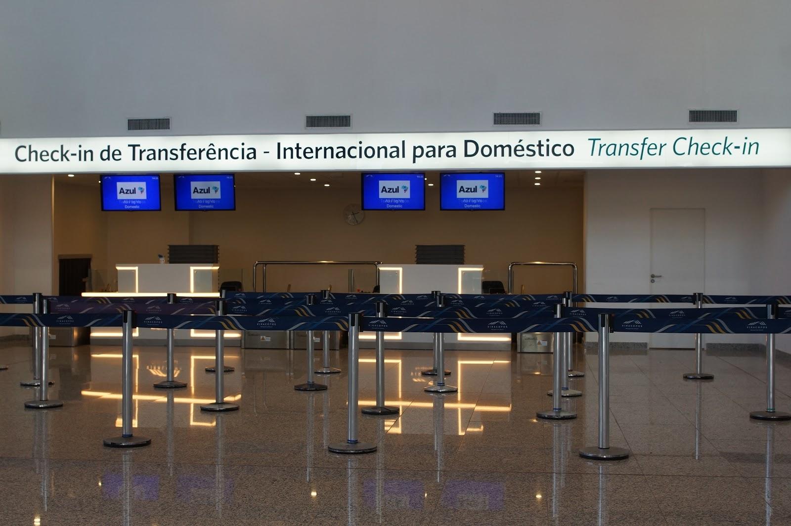 Viracopos inaugura o check-in de transferência para desembarques internacionais com voos nacionais