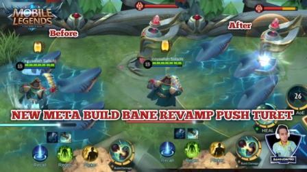 New Meta Build Bane Push Turet tersakit