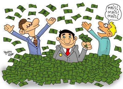 Pra maioria que serão candidatos, dinheiro tem sobrando, o que esta faltando são os votos!!!