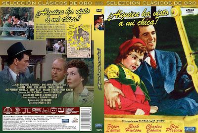 Carátula dvd: Alguien ha visto a mi chica (1952) Has Anybody Seen My Gal