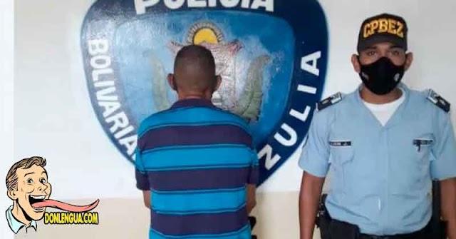 Chavista Afrodescendiente detenido por abusar a su propio hijo de 6 años