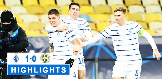 Dynamo Kyiv vs Ferencváros – Highlights