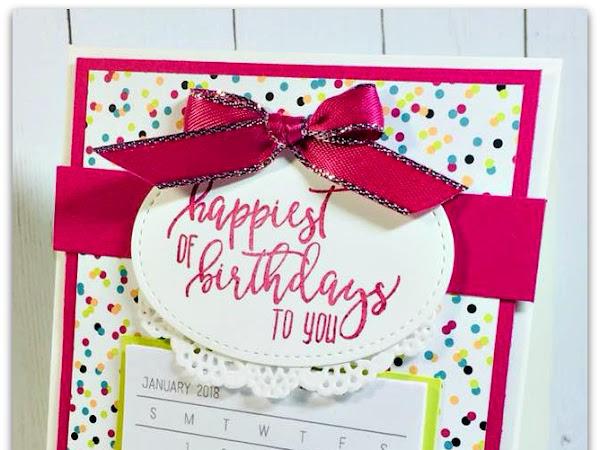 Birthday Calendar To Go!