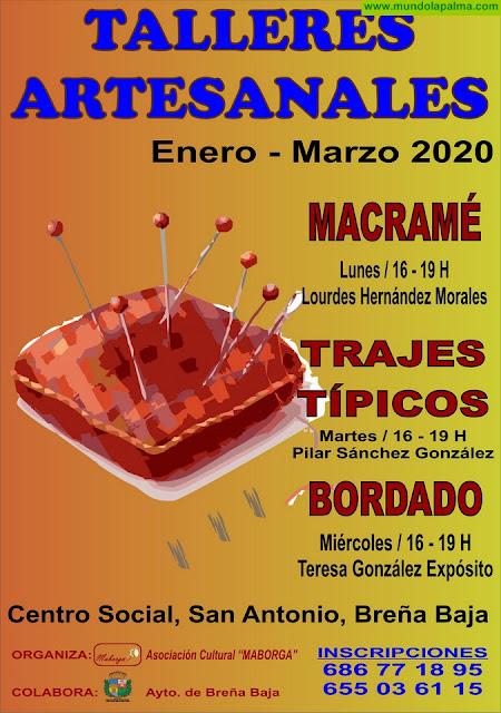 MABORGA: Inscripciones Talleres Artesanales Invierno