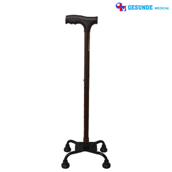 Alat Bantu Jalan Tongkat Kaki 4 (Walking Stick)