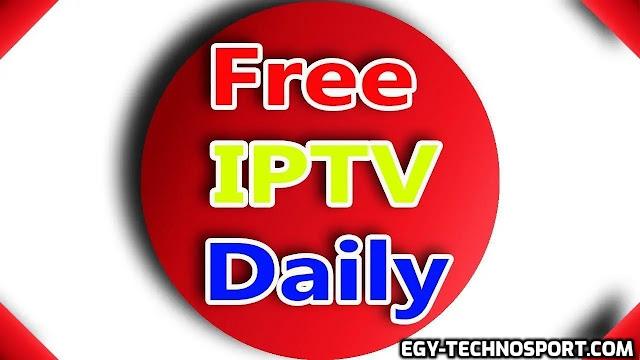 ملف قنوات iptv و روابط iptv مجانا وبدون تقطيع تكنوسبورت
