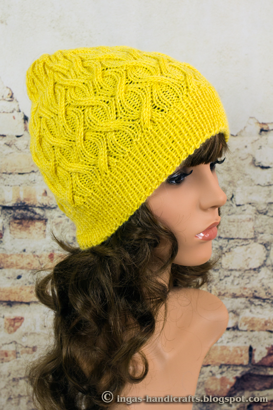Palmikutega müts / Cable Beanie