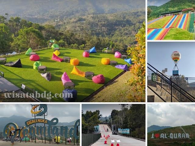 Cicalengka Dreamland, Destinasi Wisata Baru di Kawasan Bandung Timur Dekat Curug Cinulang