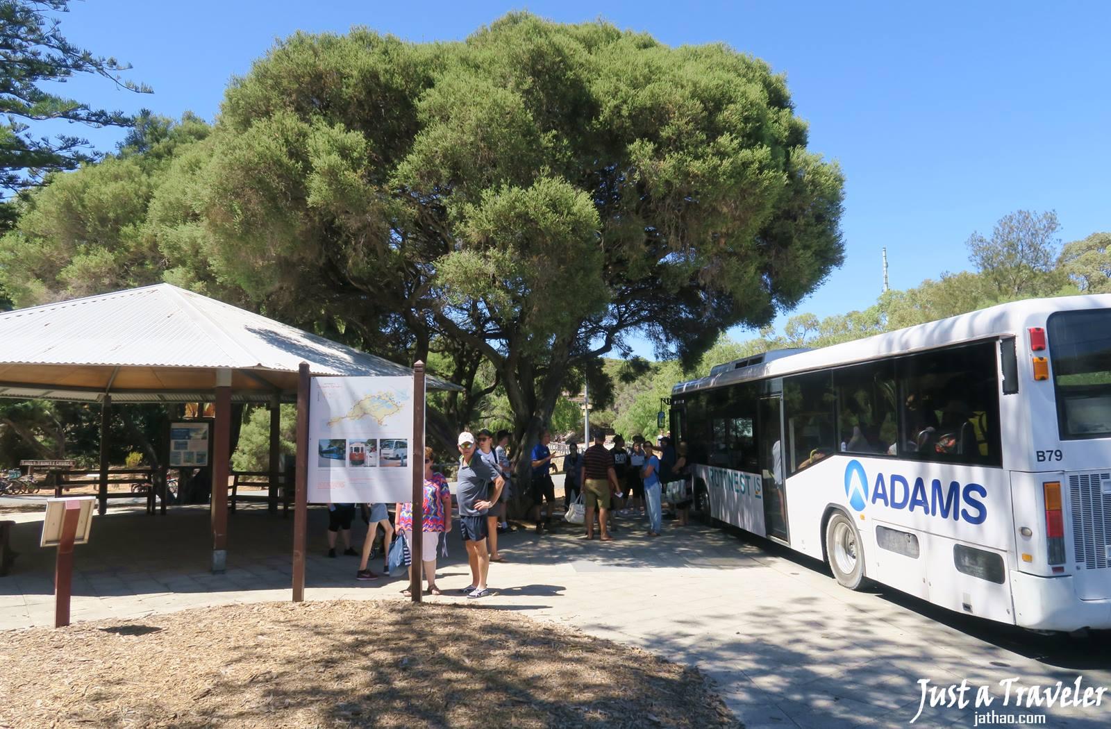澳洲-西澳-伯斯-景點-羅特尼斯島-Rottnest Island-巴士-公車-推薦-自由行-交通-旅遊-遊記-攻略-行程-一日遊-二日遊-必玩-必遊-Perth
