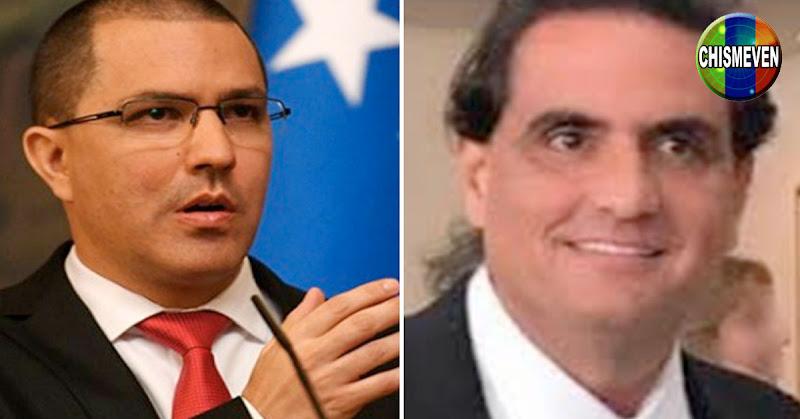 Jorge Arreaza reconoce que el Régimen está protegiendo al delincuente Alex Saab