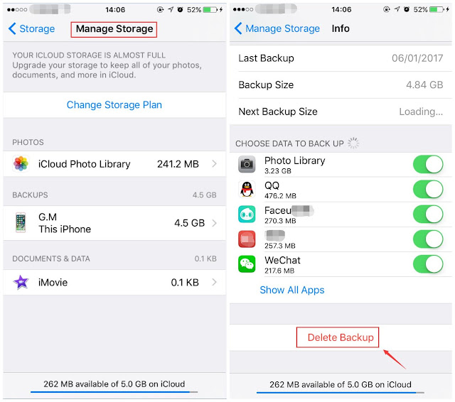 02 The way to Resolve No longer Sufficient Garage Downside on iPhone / iPad? Jailbreak