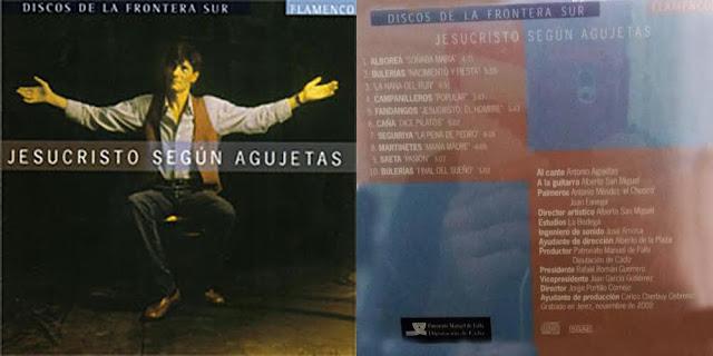Antonio Agujetas Jesucristo según Agujetas con Alberto San Miguel